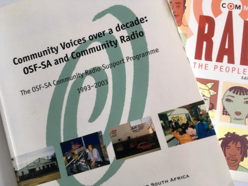 2003 - 10 Years of Community Radio Support OSF-SA 25 years in South Africa