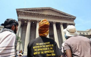 2015 - FeesMustFall Protests OSF-SA 25 years in South Africa
