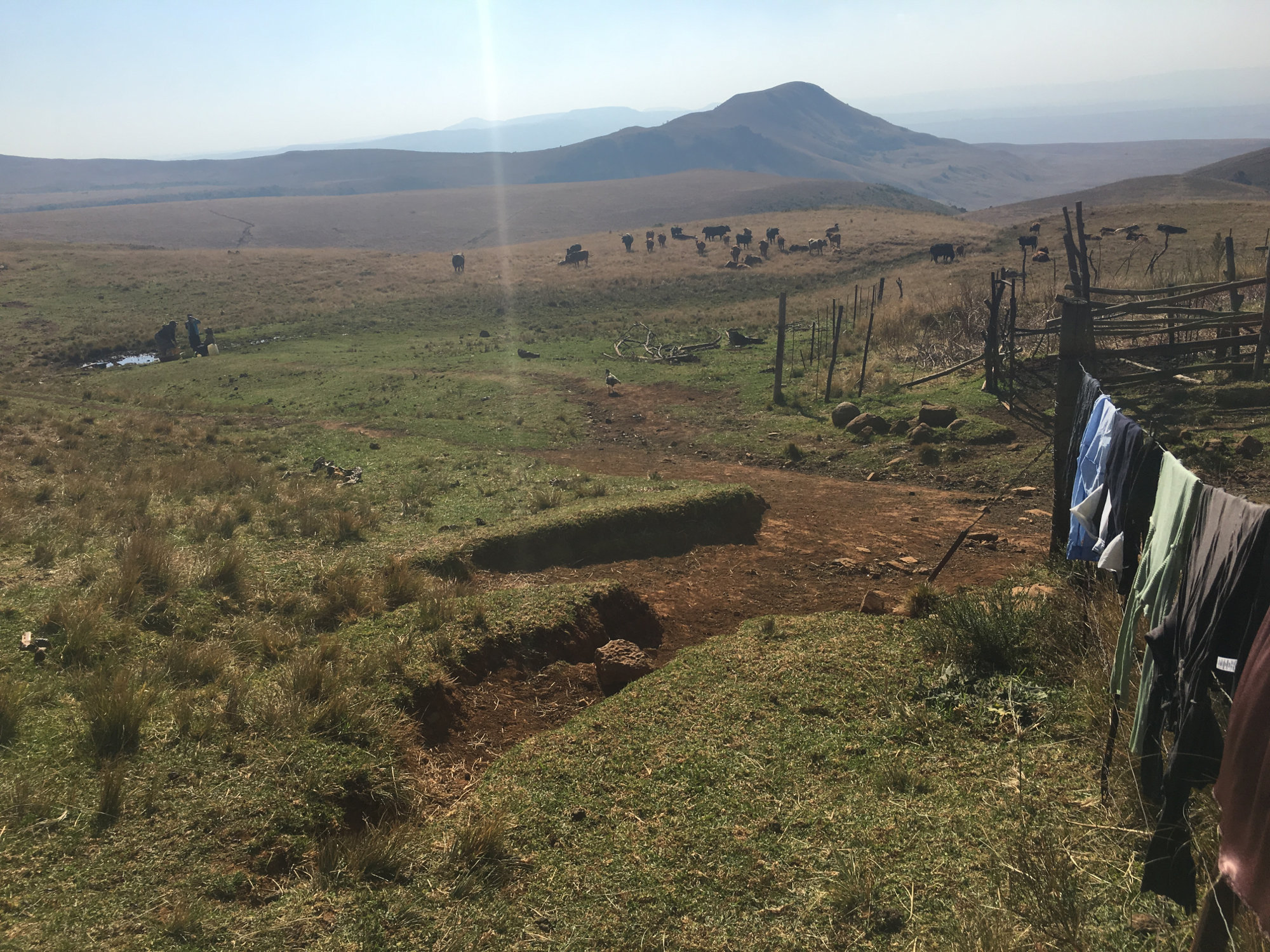 #MineAlert Mabola Exhibition Pic 2 OSF-SA 25 years in South Africa